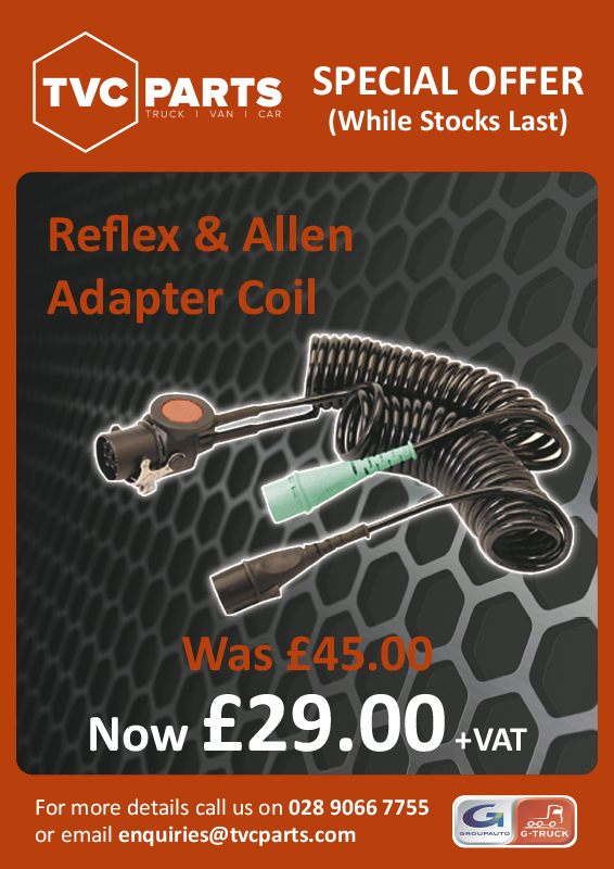 Reflex and Allen Adapter Coil only £29 plus VAT